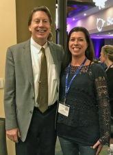 Dr Bredesen and Jen Felix