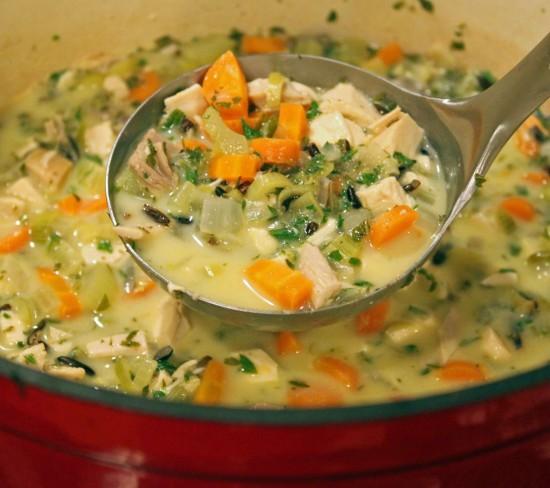 Luscious Chicken Lemon Soup
