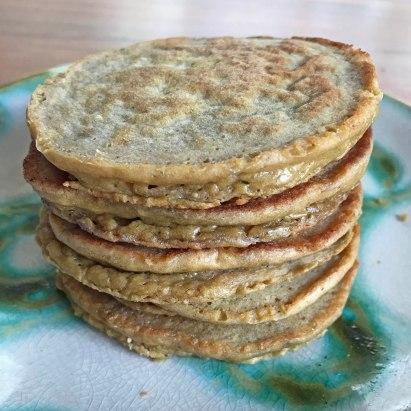 Green Plantain Pancakes