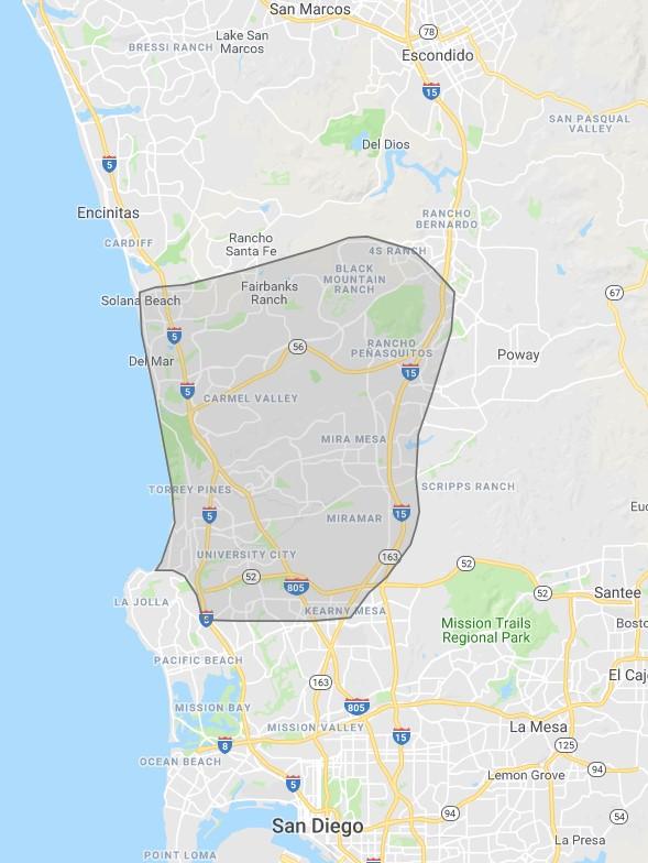 San Diego range
