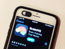 BrainHQ on phone